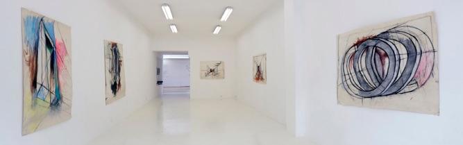 _DSC3994pano Galerie ALMA TJEERD ALKEMA dessins 2014Luc Jen